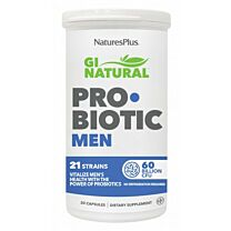 Natures Plus Gi Natural Probiotic Men 30 Cápsulas
