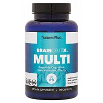 Natures Plus BrainCeutix Multi 90 Cápsulas