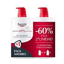 Eucerin Gel de Baño 2x 1000ml