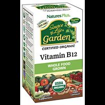 Natures Plus Garden Vitamina B12 60 Cápsulas