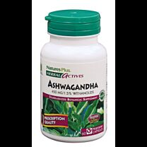 Natures Plus Ashwagandha 450mg 60 Cápsulas