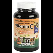 Natures Plus Animal Parade Vitamina C 90 Tabletas