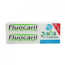 Fluocaril Junior 6-12 Años Sabor Bubble 75+75ml