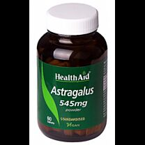 Health Aid Astragalus 545mg 60 Tabletas