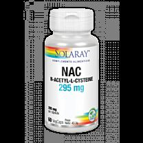 Solaray Nac 295mg 60 Cápsulas