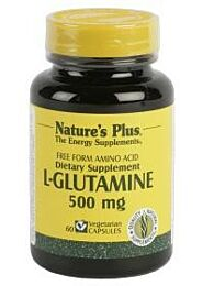 Natures Plus L-Glutamina 500mg 90 Cápsulas