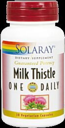 Solaray Milk Thistle 30 Cápsulas
