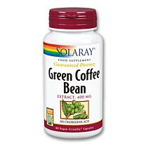 Solaray Green Coffe Extract  60 Cápsulas