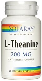 Solaray L-Theanina 200mg 45 Cápsulas