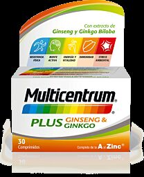 Multicentrum Plus Ginseng 30 Tabletas