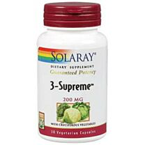 Solaray 3-Supreme 200mg 30 Cápsulas