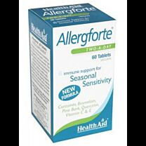 Health Aid Allergforte 60 Tablets