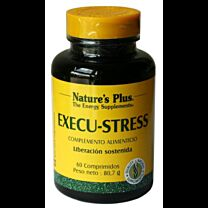 Natures Plus Execu-Stress 60 Comprimidos